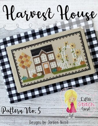 Harvest House - Autumn Cross Stitch Pattern