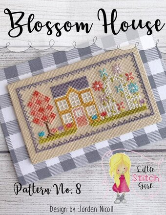 Blossom House - Spring Cross Stitch Pattern