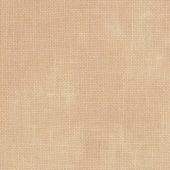 40 Count Vintage Buttercream Linen Fabric 27x36