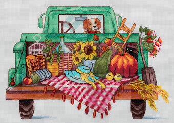 The Way Home - Autumn Cross Stitch Kit
