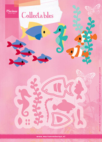 Marianne Designs Collectables Dies - Eline's Tropical Fish