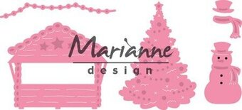 Marianne Design Collectables Dies - Village Decoration Set 5