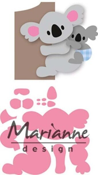 Marianne Design Collectables Die - Eline's Koala