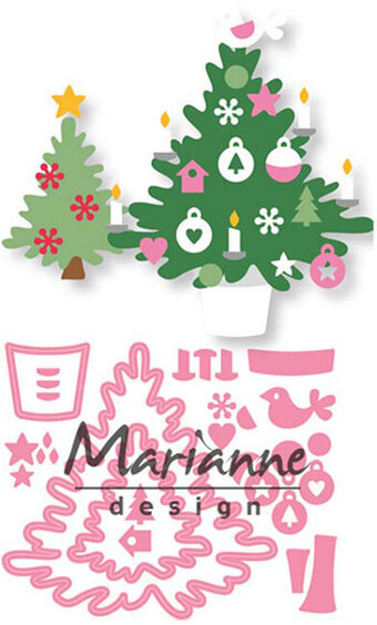 Marianne Design Craft Die - Eline's Christmas Tree