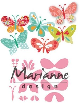 Eline's Butterflies - Marianne Design Craft Die