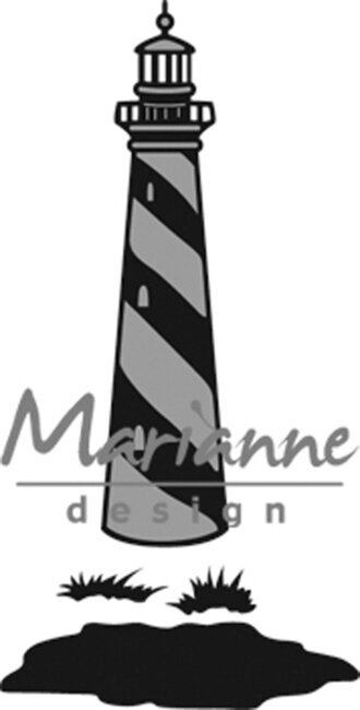 Tiny's Lighthouse - Marianne Design Craftables Die