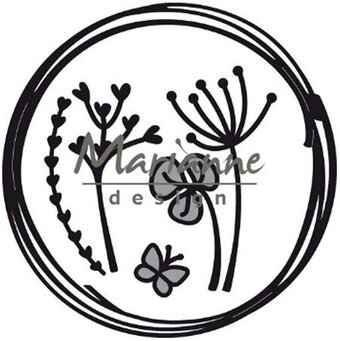Doodle Circle - Marianne Design Craftables Die