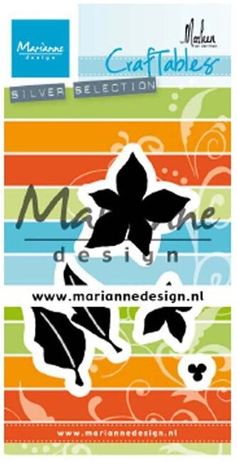 Poinsettia By Marleen - Marianne Design Craftables Die
