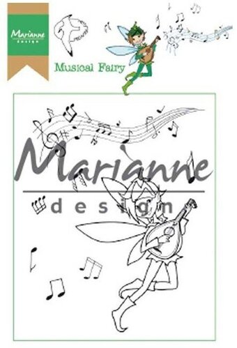 Hetty's Musical Fairy - Marianne Design Clear Stamp
