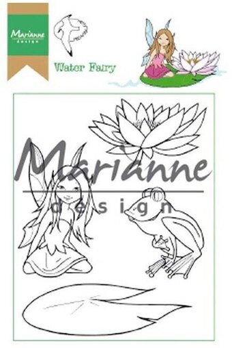 Hetty's Water Fairy - Marianne Design Clear Stamp