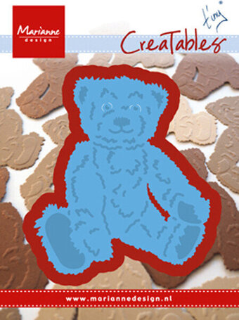 Tiny's Teddy Bear - Marianne Design Creatables Dies
