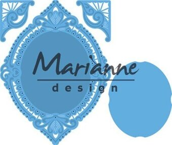 Marianne Design Creatables Dies - Petra's Oval and Corners