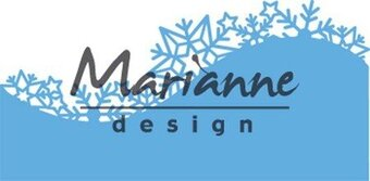 Marianne Design Creatables Die - Ice Crystals Border