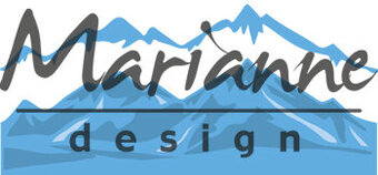Marianne Design Die - Horizon Snowy Mountains