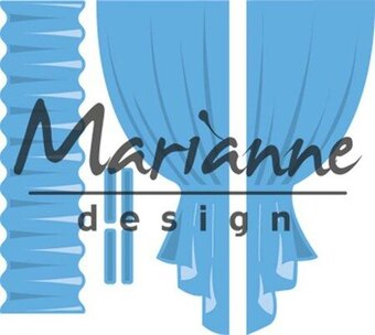 Curtains - Marianne Designs Creatables Die