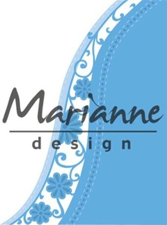Anja's Flower Wave - Marianne Design Dies
