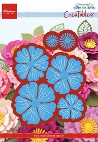 Marianne Design Dies - Anja's Beautiful Flower Set