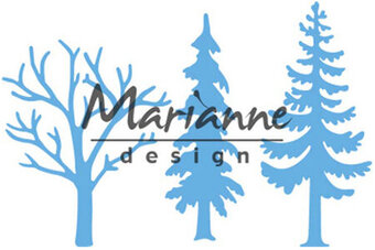 Marianne Design Craft Die - Forest Trees