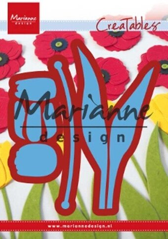 Build-A-Tulip - Marianne Design Craft Die