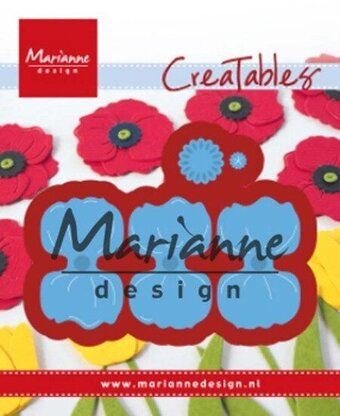 Poppy - Marianne Design Craft Die