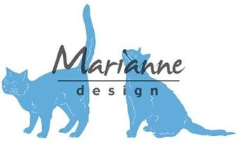 Tiny's Cats - Marianne Design Craft Die