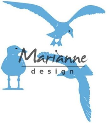 Tiny's Sea Gulls - Marianne Design Creatables  Die