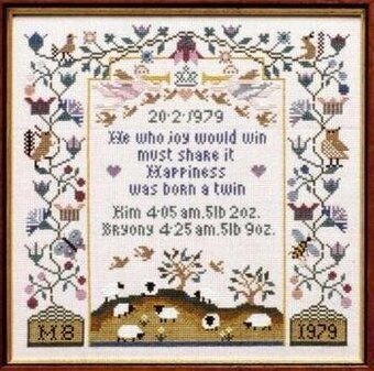 The Announcement - Cross Stitch Pattern