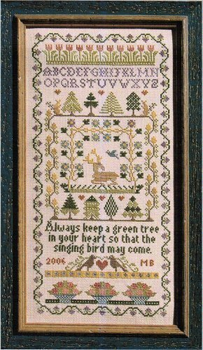 Green Tree - Cross Stitch Pattern