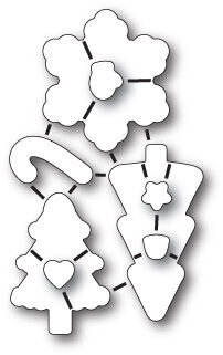 Memory Box Christmas Cookies Die Set