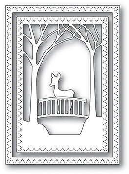 Memory Box Woodland Bridge Frame - Craft Die