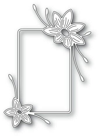 Starflower Flower Frame - Memory Box Craft Die