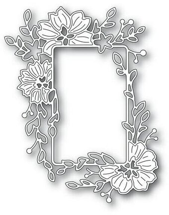 Clarkia Flower Frame - Memory Box Craft Die