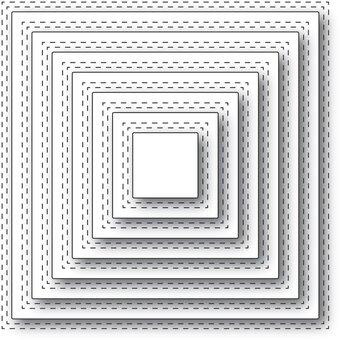 40-3 12\u201d Square  Die Cuts in Assorted Prints Set 200