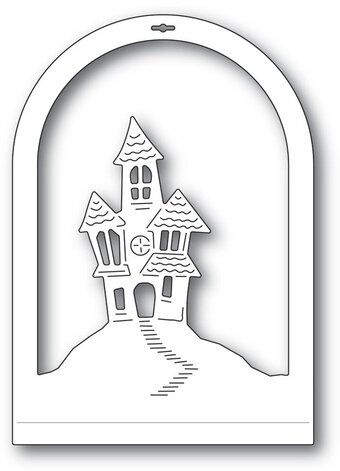 Haunted House Dome Layer - Halloween Memory Craft Die