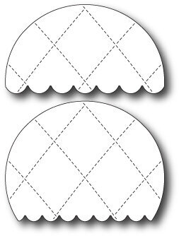 Memory Box Quilted Balloon Decorations Die