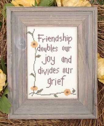 Friendship - Cross Stitch Pattern