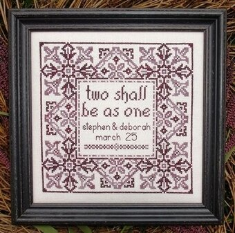 My Big Toe Designs Wedding The Cross Stitch Pattern 40Stitch Interesting Cross Stitch Wedding Patterns
