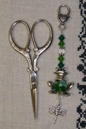 Little Frog Scissor Fob