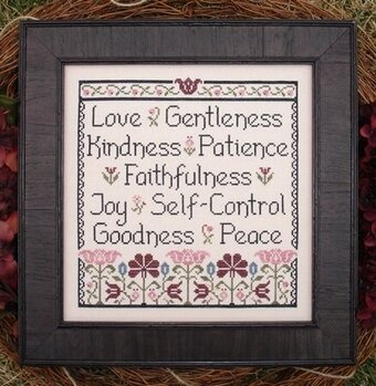 Fruit of the Spirit - Cross Stitch Pattern