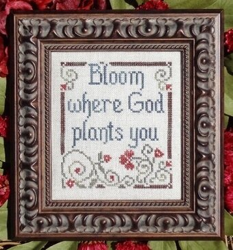 Bloom - Cross Stitch Pattern