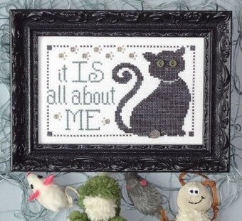 All About Me - Cross Stitch Pattern