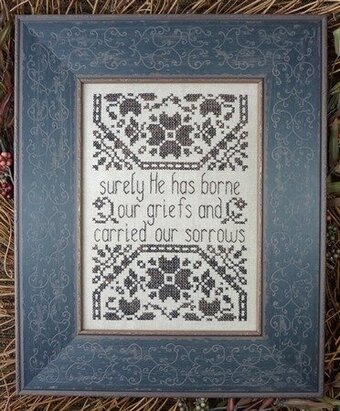 Griefs and Sorrows - Cross Stitch Pattern