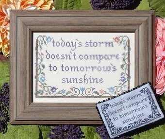 Today's Storm - Cross Stitch Pattern