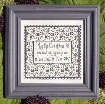 Trust in Him - Cross Stitch Pattern