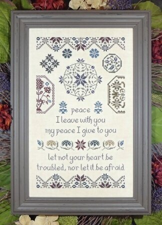 Quaker Peace - Cross Stitch Pattern