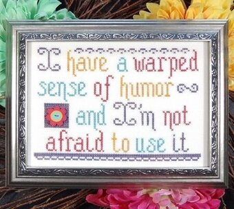 Warped Humor - Cross Stitch Pattern