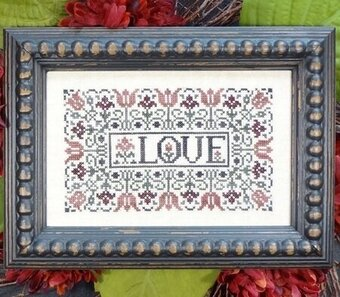 Love - Cross Stitch Pattern