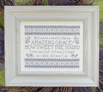 Amazing Grace - How Sweet the Sound - Cross Stitch Pattern