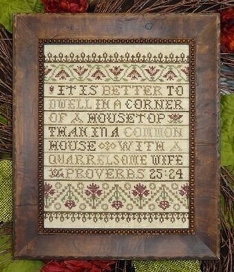 Better to Dwell - Cross Stitch Pattern