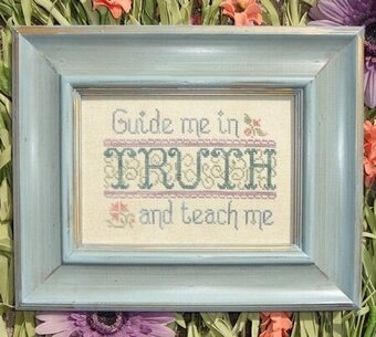 Guide Me in Truth - Cross Stitch Pattern